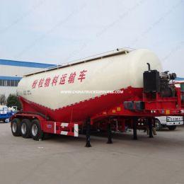 V Type 3axle 70cbm Dry Bulk Cement/Powder Tank Semi Trailer