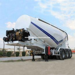 25- 85 Cubic Meters Bulk Cement Tanker Semi Trailer Concrete Powder