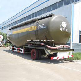 50cbm Bulk Cement Tanker Semi Trailer with 3 Axles