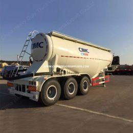 3 Axles Steel 32 Cbm Bulk Cement Tanker Bulk Powder Semi Trailer for Sale