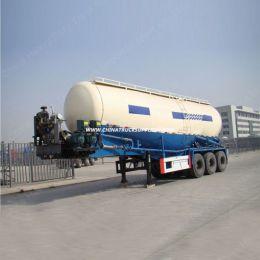 3 Axle 45m3 Bulk Cement Tank Truck 60ton Bulk Powder Tanker Se