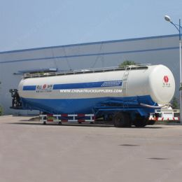 Bulk Cement Tanker Semi Trailer Concrete Powder Tank Trailer for Sale