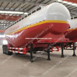 3 Axle Bulk Cement Semi Trailer/Bitumen Tanker with Tractor Lo