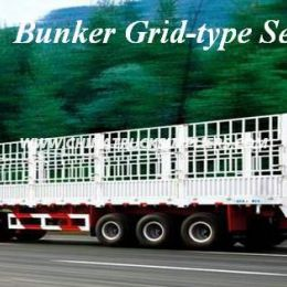 3 Axles Stake Fence Semi Truck Trailer for Cargo Transportatio