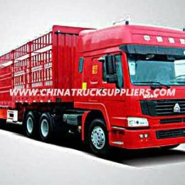 Heavy Duty Tri Axle Stake Fence Cargo Semi-Trailer Truck