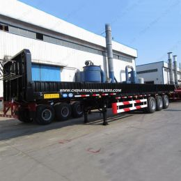 50ton 3 Axle Tri-Axle Cargo Semi Trailer for Hot Sale