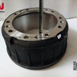 Yutong Bus Spare Parts Drum Brake Parts Front Brake Drums 3501