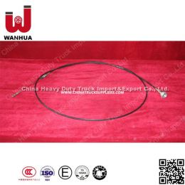 Wg9725570002 Sinotruk Truck Spare Parts Hand Throttle Cable Assembly