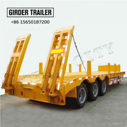 3 axles chassis lowb