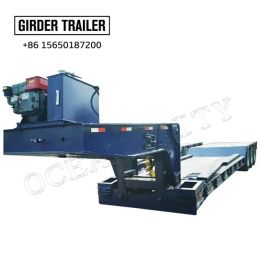 low bed trailer for