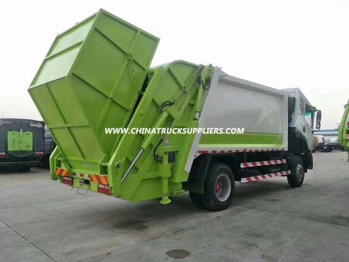 10CBM Compactor garbage truck