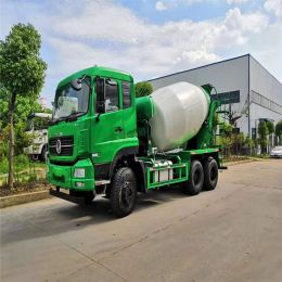 Dongfeng 340 Hp 10 Cubic Meters 6*4 Mixer Concrete Truck