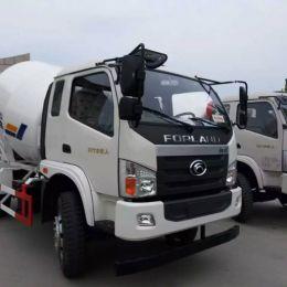 Foton 4X2 5 cubic meters concrete mixer drum truck