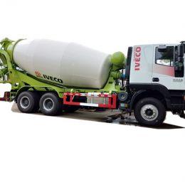 Iveco 10 cubic meters concrete mixer truck