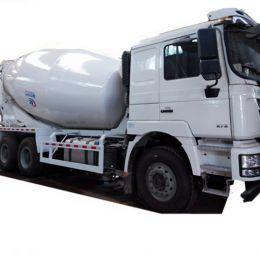 Shacman 10 cubic 10m3 meters concrete mixer truck