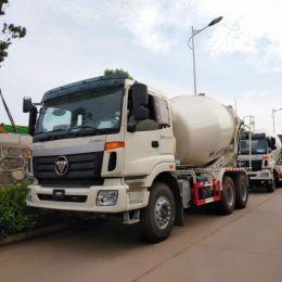 FOTON 6x4 concrete mixer truck 10cbm 12cbm