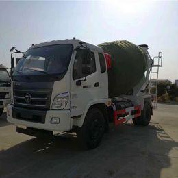 4X2 Type 5m3 6m3 Foton Concrete Mixer Truck