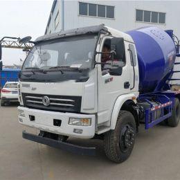 Dongfeng 4X2 Euro 4 Engine 6m3 Concrete Mixer Truck