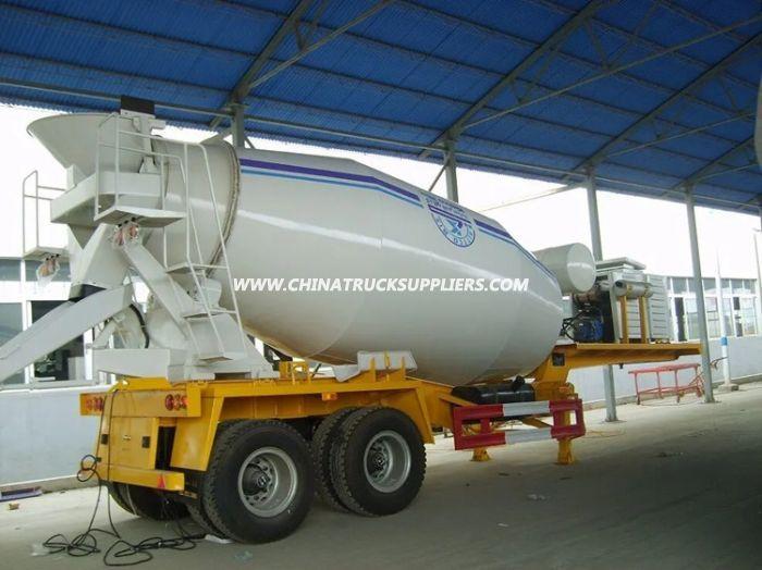 Heavy Duty 3 Axle 16cubic Meter Concrete Mixer Truck Trailer