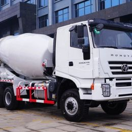 Iveco Hongyan 6*6 All-Wheel Drive Awd 9cbm Concrete Mixer Truc