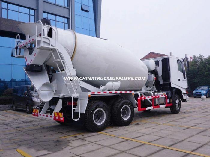 Iveco Hongyan 6*6 All-Wheel Drive Awd 9cbm Concrete Mixer Truck