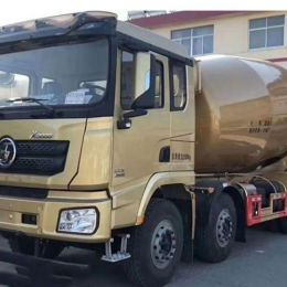 Shacman X3000 Series 14-16cbm Golden Concrete Mixer Truck