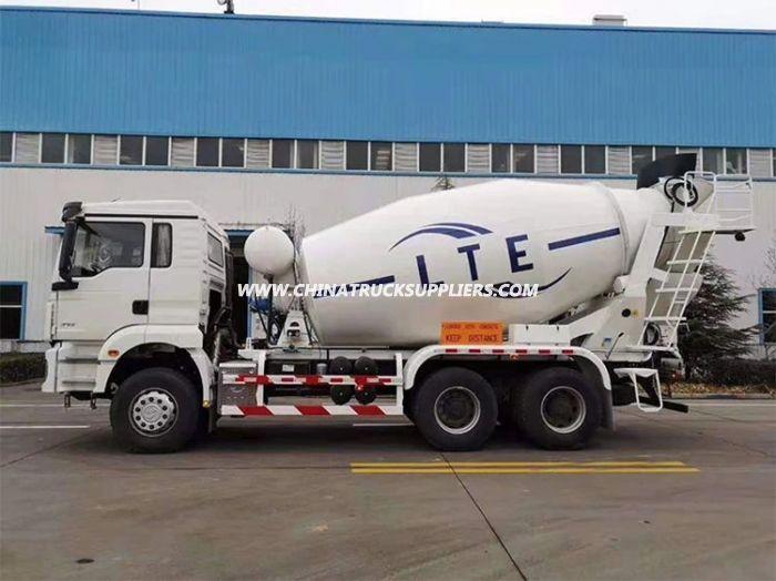 Shacman H3000 Series 10cbm Concrete Mixer Truck