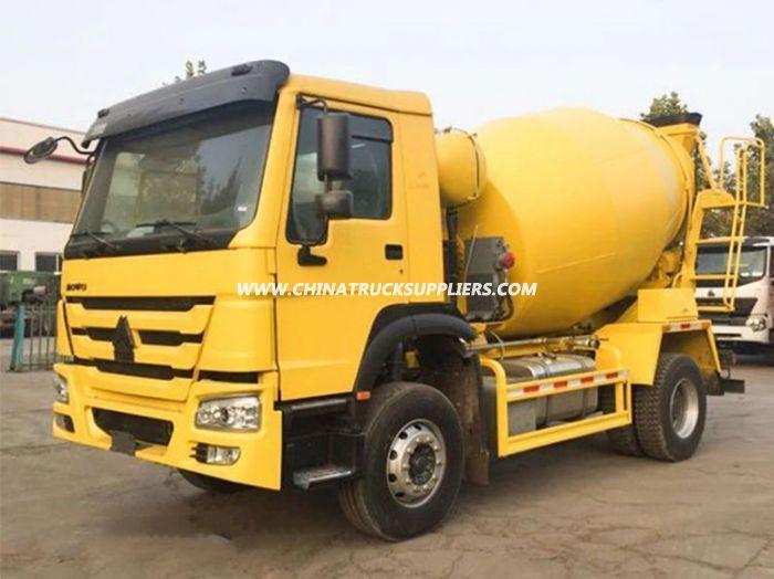 HOWO 4X2 LHD 266HP 6cbm Concrete Mixer Truck