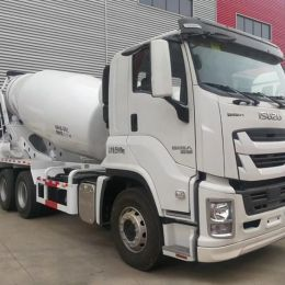 Isuzu 10wheels Cement Concrete Mixer Truck 8m3