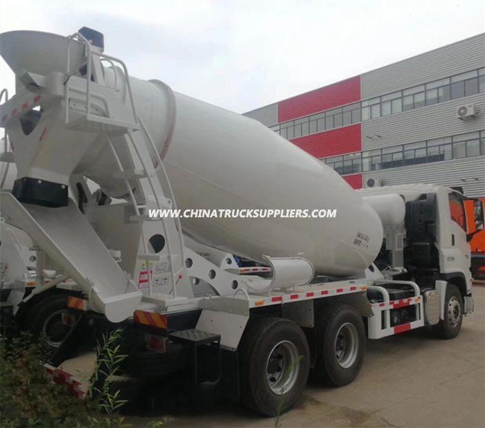 Isuzu 10wheels Cement Concrete Mixer Truck 8m3