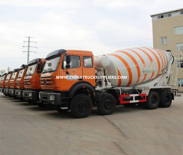 North Benz Heavy Duty 14-18cbm Concrete Mixer Truck 8x4