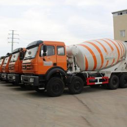 North Benz Heavy Duty 14-18cbm Concrete Mixer Truck 8x4