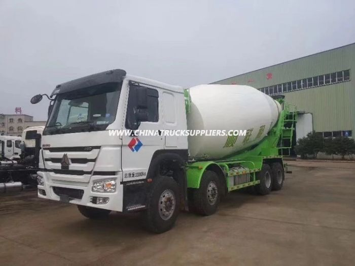 HOWO 8*4 16 cbm construction Cement truck concrete mixer truck