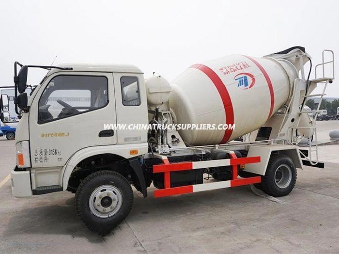 Foton 5 Cbm 4×2 Sunny Pump Concrete Mixer Roller Truck